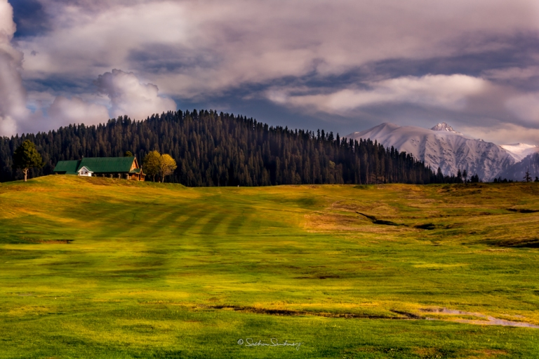 Gulmarg Church near the Golf course